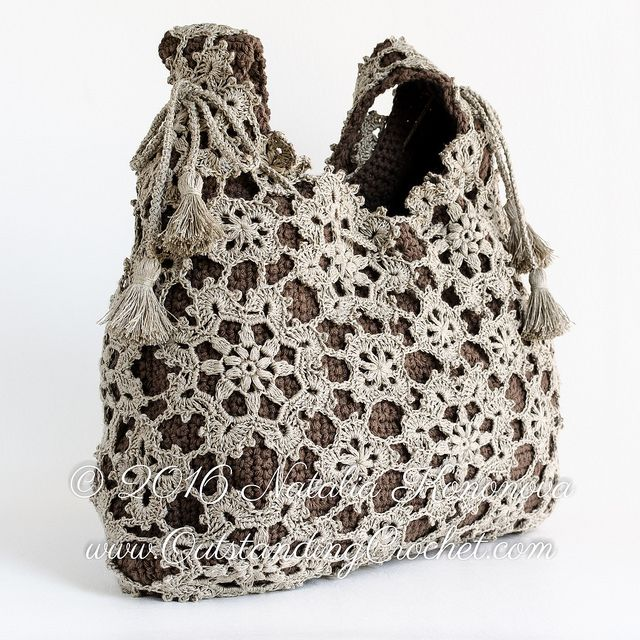 Outstanding Crochet: New pattern in the shops - Crochet Shoulder Messenger Bag Pattern.