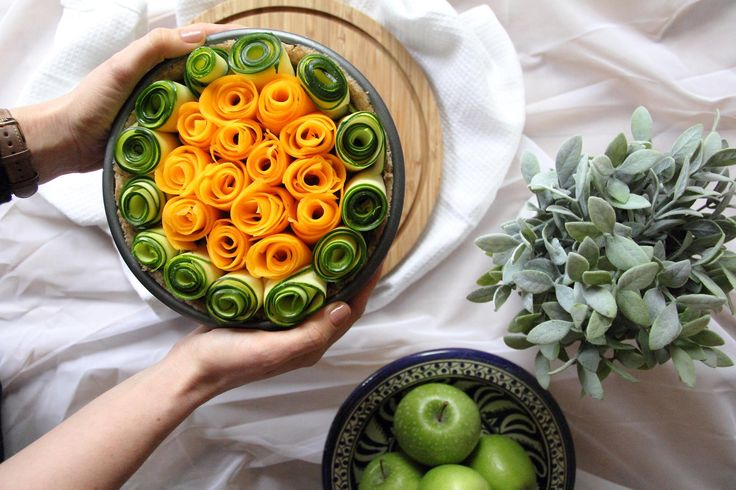 This vegan rose tart is light and bursting with fresh flavours making it ideal for spring and the centrepiece of any vegan roast dinner.