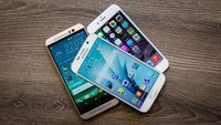 Samsung Galaxy S6 vs. HTC One M9, Apple iPhone 6 camera shootout We pit the cameras from three mobile giants -- the Galaxy S6, the HTC One M9, and the iPhone 6 -- against one another to see which flagship takes the best photos.