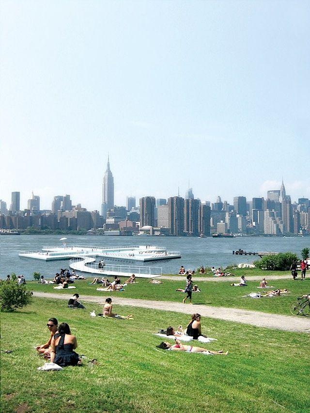 + Pool, la Piscina Flotante de NYC