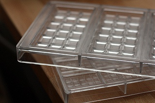 polycarbonate chocolate molds to make chocolate bars at home; David Lebovitz Living the Sweet Life in Paris