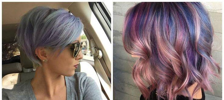 Kurzhaarschnitte-für-Frauen-2018-aktuellste-Haarschnitte-Haarschnitte-für-Kurzhaar-Tiefviolett-Haarschnitte für kurzes Haar 2018   – haircuts for women