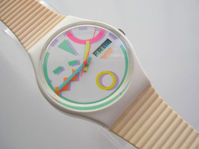 swatch- my fav. I had one similar to this , was stolen so I got a clear and blue one