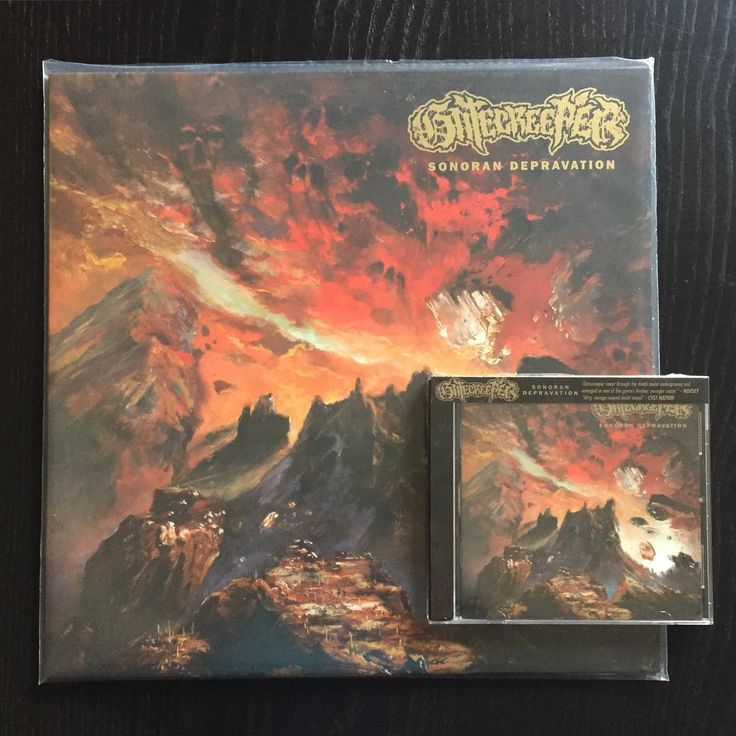 "ON SALE! Gatecreeper ""Sonoran Depravation"" (2016 Relapse) CD 11,90€/LP 16,90€ www.everlastingspew.com  Arizona newcomers GATECREEPER deliver 9 monstrous songs of low-end, old-school death metal on their savage debut album 'Sonoran Depravation'. Having devastated the underground since their formation less than three years ago, GATECREEPER now unleash their first full-length, produced by Ryan Bram at Homewrecker Studios and mixed by Kurt Ballou (Converge, Nails, Black Breath) at God City…"