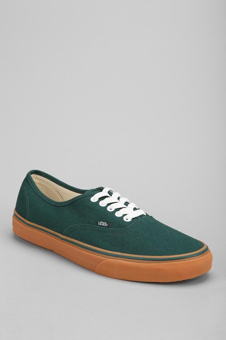 Vans Olive Green Sole