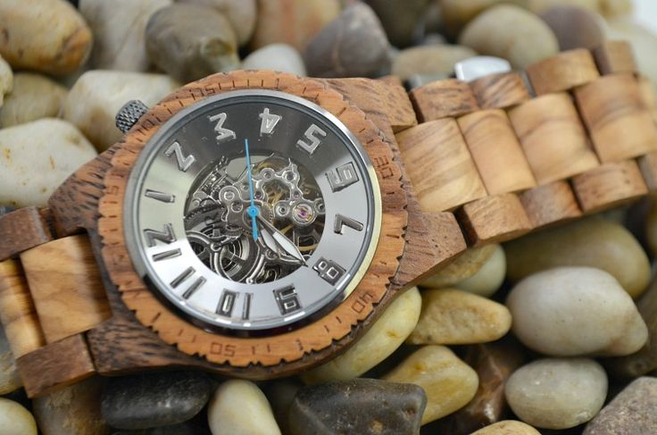 this unique mens watch is stunning and makes the perfect Valentine's Day gift  AD