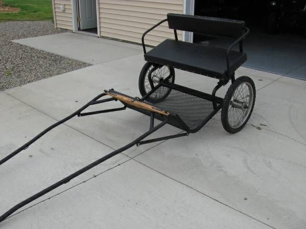 easy entry cart simple plan horses driving and farming