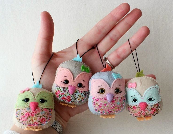 Free pattern for these cute owls.