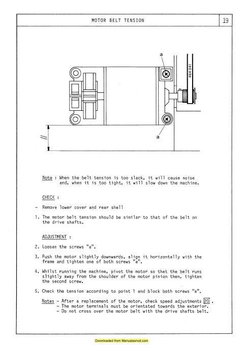 1449 best Sewing Machine Manuals images on Pinterest | Cinturón ...