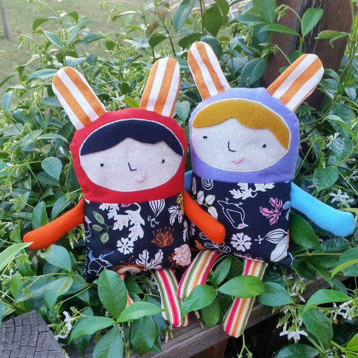 Meet our new plush friends KIKI & KIKA by MM KIDDO!. |Price: AUD20.00/set or AUD18.00/single |www.maya-may.com |Enquiries: mayamay24@gmail.com. Text : Angela +61413504255 (Australia) #dolls #plushies #felt #handmade #kids #toys #gifts