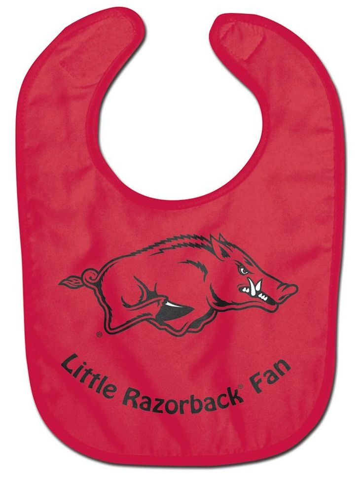 ~Arkansas Razorbacks Baby Bib - All Pro Little Fan~ backorder