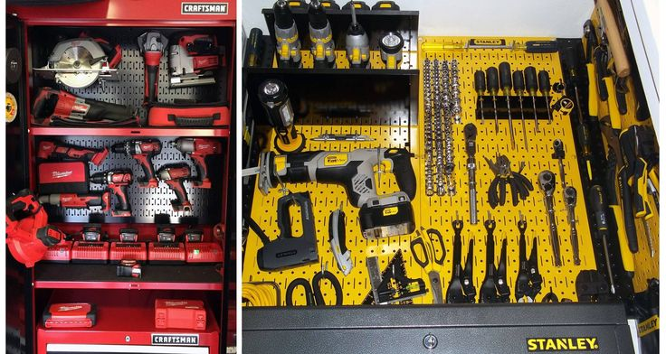 If you have a favorite tool, team, or brand then Wall Control has a pegboard color that can turn your storage and organization area into a custom looking display with a turn-key price tag. Wall Control offers 10 pegboard colors and 4 pegboard accessory colors so you can customize your tool storage and organization area to match your likes, interests, and themes. Turn a boring wall into a conversation piece with a little creativity and Wall Control's colored metal pegboard and pegboard…