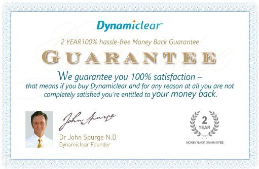 Dynamiclear review - Guarantee
