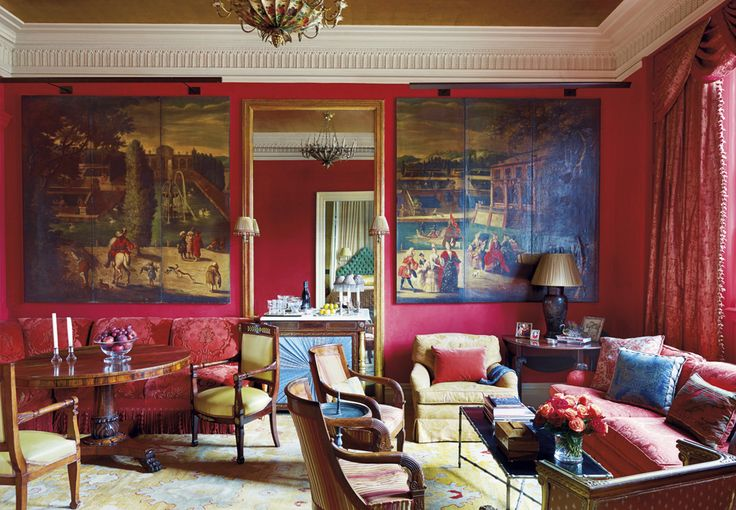 Amelia T. Handegan's impeccable interiors rest on a solid foundation of historic knowledge and a fresh, sumptuous use of color.