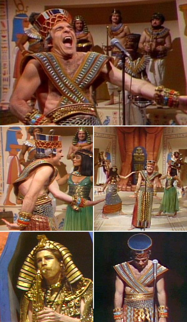 "April 28, 1978: Steve Martin performs ""King Tut"" on NBC's Saturday Night Live"