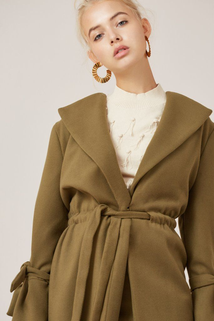 DIRECTION COAT juniper, Finders Keepers $219.95    http://www.shopyou.com.au/ #womensfashion #shopyoustyle