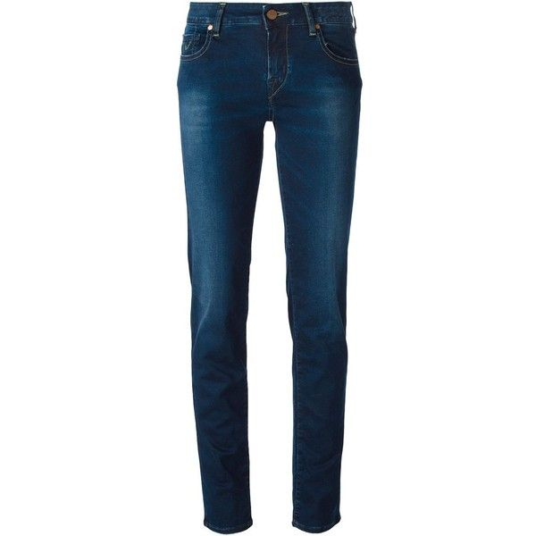 Jacob Cohen Skinny Fit Jeans (245 CAD) ❤ liked on Polyvore