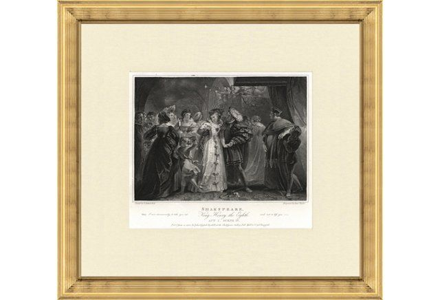 Shakespeare Print, 1803