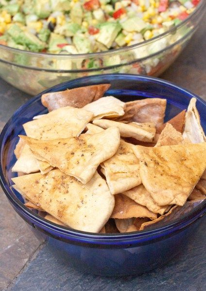 Pita Bread and Pita Chips from Scratch | Served From Scratch