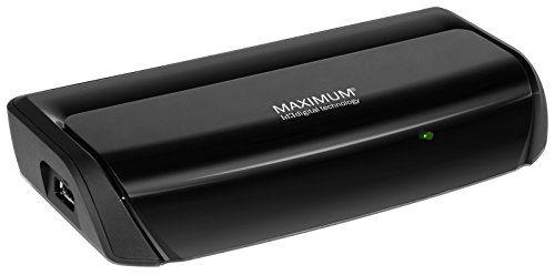 Maximum XO-106 T DVB-T Receiver (HDMI, SCART, PVR, USB) schwarz