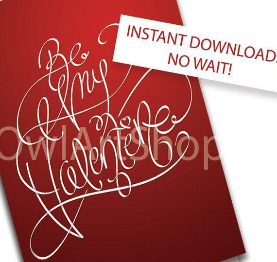 The 25 best Printable valentine cards ideas on Pinterest  Free