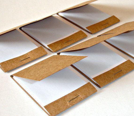 matchbook mini notebooks