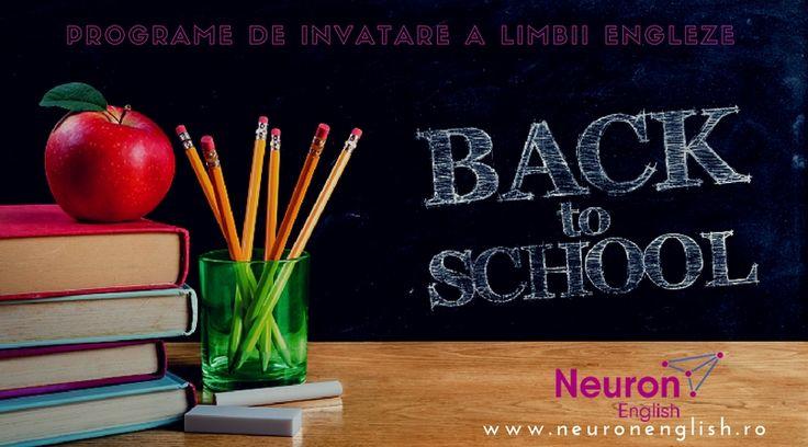 👩🏫Back to school cu Neuron English - Programe de invatare a limbii engleze - Constanta 📝Au inceput inscrierile pentru toamna 2017. Invata engleza ca un nativ ! Inscrieri la ☎️ 0728 18 18 88 www.neuronenglish.ro