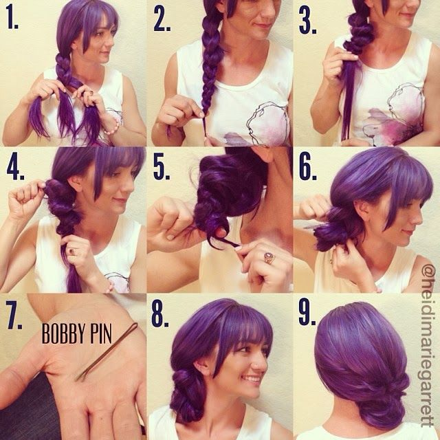 Steps To Make Easy Hairstyles: 25+ Best Ideas About Easy Side Updo On Pinterest