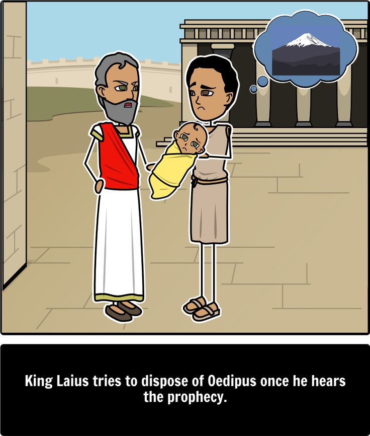 a tragedy of fate in the story oedipus the king The story of oedipus is the subject of sophocles' tragedy oedipus rex,  in an attempt to avoid such a fate, he decided to not return home to corinth, but to travel to thebes, which was.