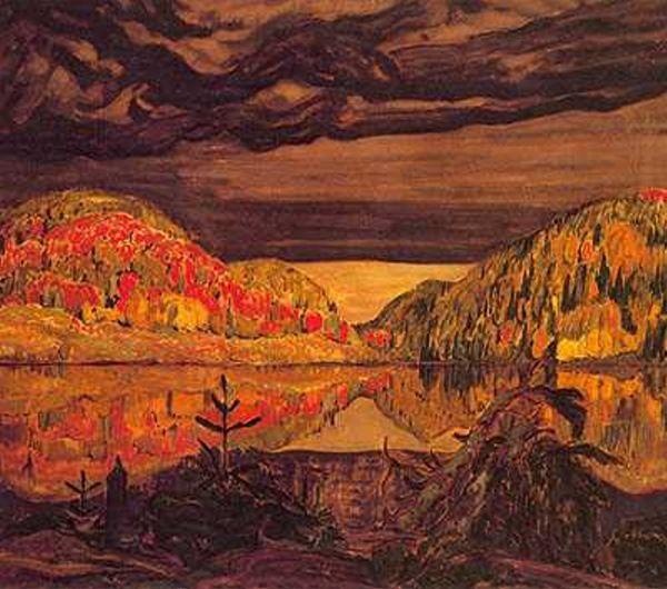 """J. E. H. MacDonald  """"October Shower Gleam"""""""