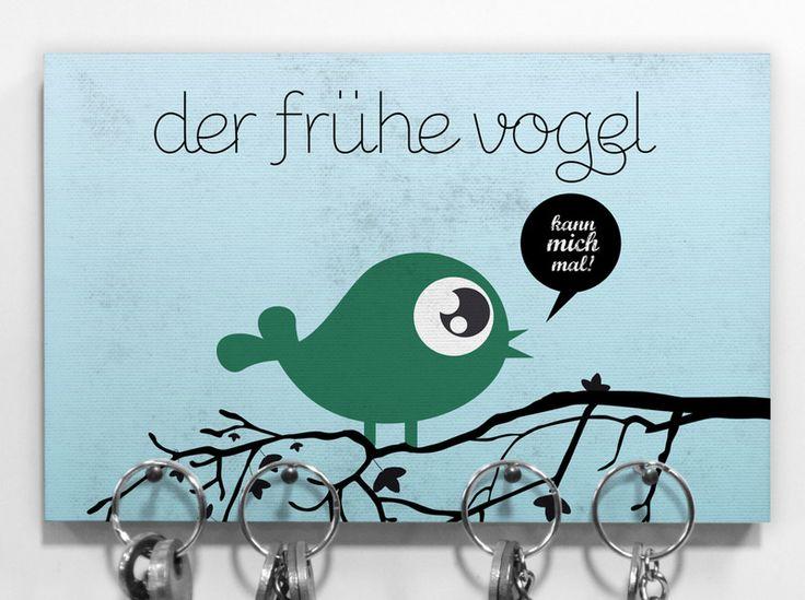 ? KeyKey Schlüsselbrett | Vogel von claus-peter-2 via dawanda.com