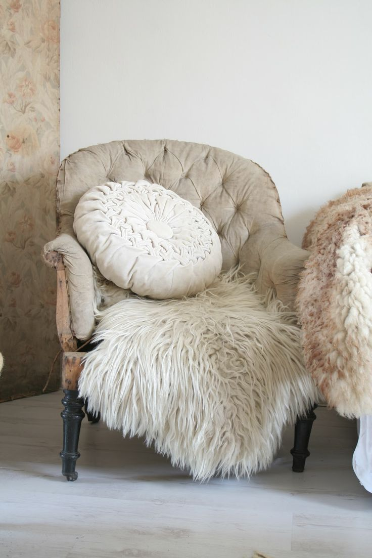 1000 images about sheepskin rugs throws on pinterest for Fur throws for sofas