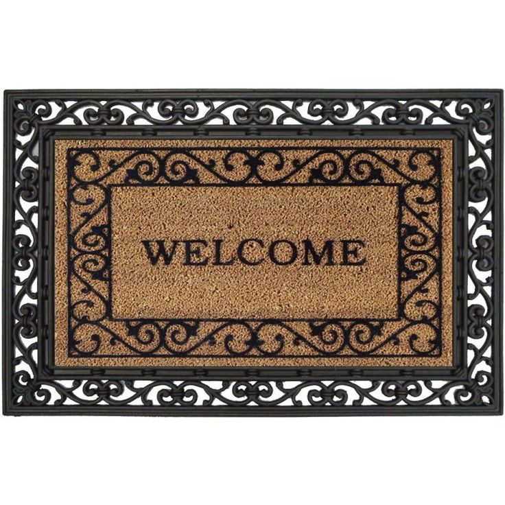 17 best images about rug stencils on pinterest vineyard for Welcome home front door mats