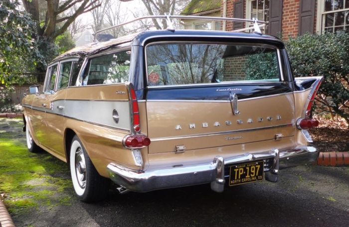 18+ 1959 rambler station wagon background