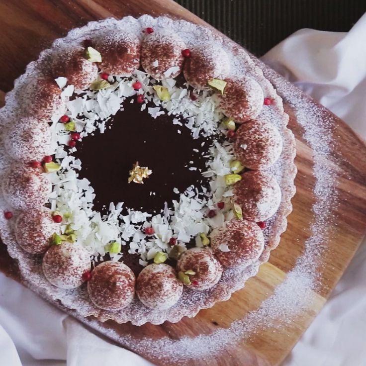 How to make Japanese Nama Chocolate Cake.