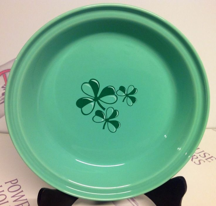 NEW Fiesta Ware China Pottery 10-1/4-Inch Deep Dish Pie Plate & 56 best pie plates images on Pinterest | Pie plate Kitchen ideas ...