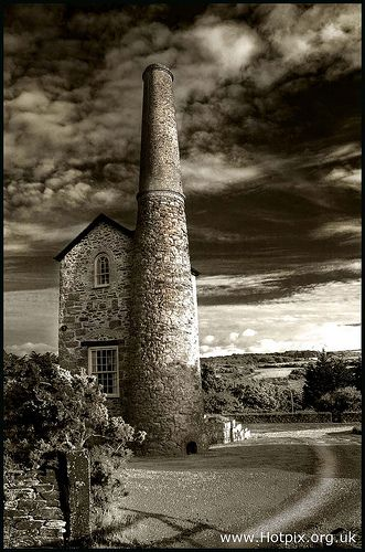 Tin Mine House, Near Scorrier, Cornwall, UK