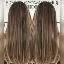 Image result for mechas balayage para cabello liso y oscuro
