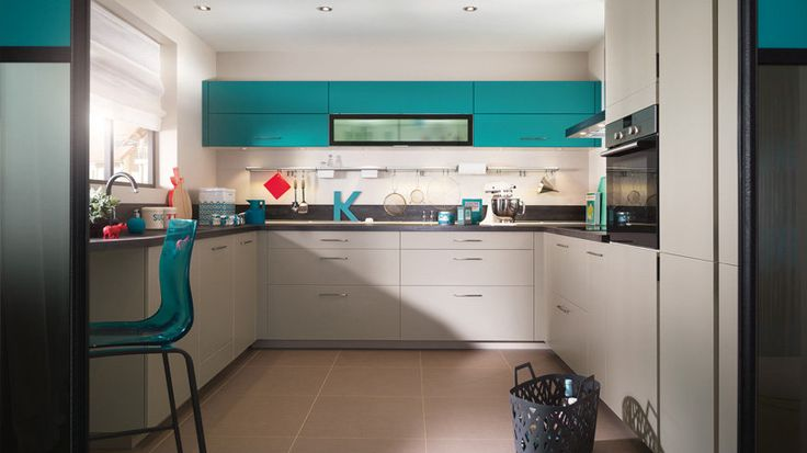Am nagement de cuisine en u kitchen design and kitchens Idee cuisine en u