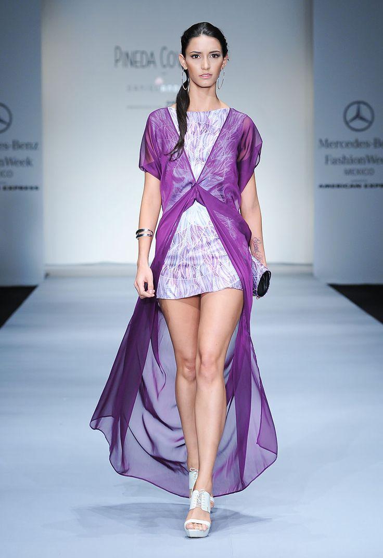 Pineda Covalin - Pasarela Mercedes Benz Fashion Week Mexico SS2013