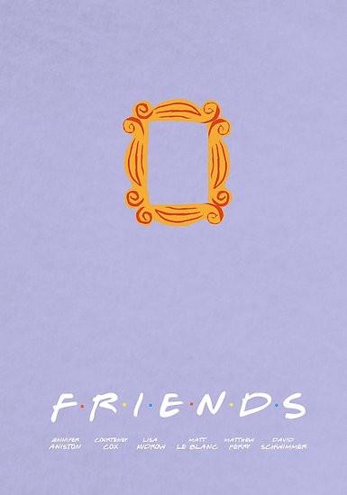 Friends Minimalist Poster