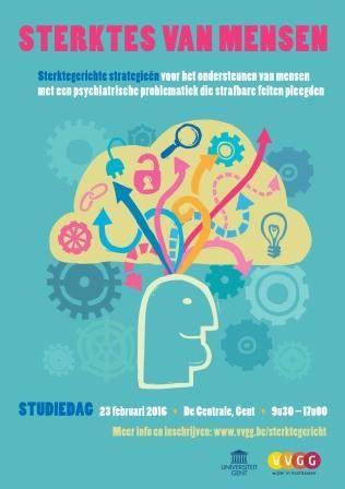 Sterktes van mensen. Sterktegerichte strategieën voor het ondersteunen van mensen met een psychiatrische problematiek die strafbare feiten pleegden. Het bevat twee bijdragen over de  achtergronden en internationale toepassingen van het sterktegericht paradigma. 5 hfdst van een interdisciplinaire studie van de Universiteit Gent  naar sterktegerichte multidisciplinaire richtlijnen, aanbevelingen en strategieën voor deze doelgroep en samen met de doelgroep.
