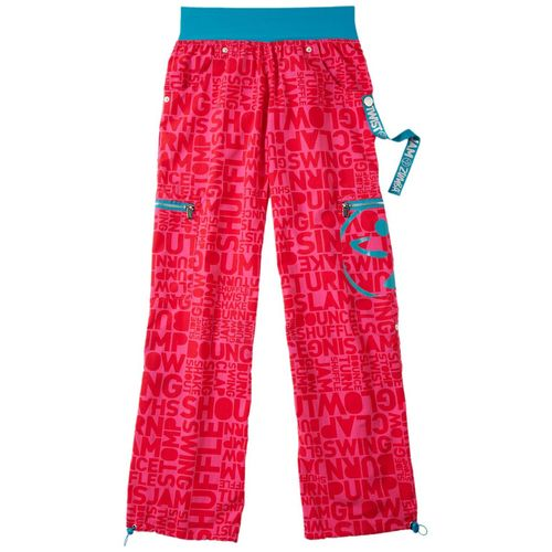 Zumba Fitness Shout Out Cargo Pants in Lollipop Pink - FunktionalWearables.com