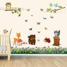 nursery wall stencil - Google Search