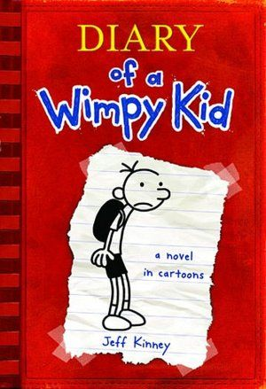 Diary of a Wimpy Kid (Diary of a Wimpy Kid Series #1)  Can't wait to read this series of books!!