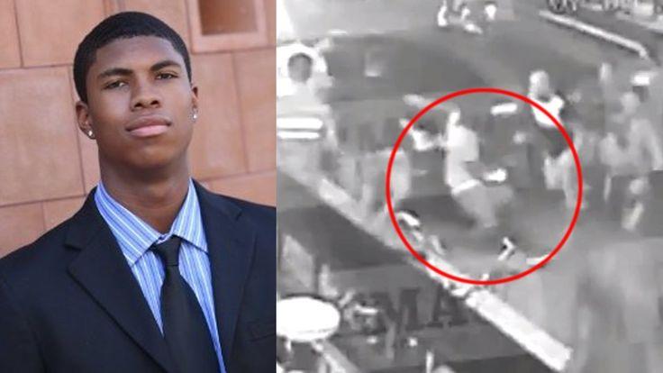 """Här slår uppretad mobb ihjäl afroamerikansk turist i Grekland – """"pratade med serbisk servitris""""."""
