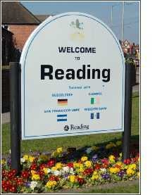 Brought up in Reading