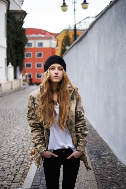 Army Jacket Fashion Magazine Pinterest Tom Boy