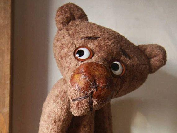 Ernest  kid or interior toy Teddy bear style от CraftNonstop