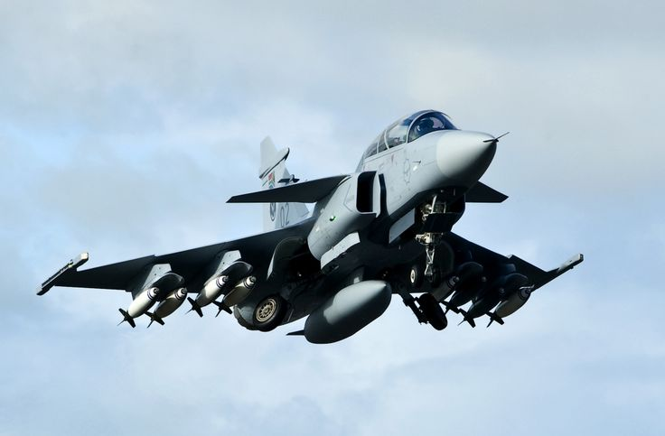 South African Air Force Saab Gripen.
